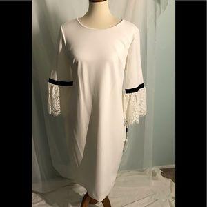 Calvin Klein 3/4 Length Sleeve Dress